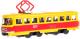 Трамвай игрушечный Технопарк SB-16-66WB -
