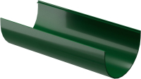 Желоб водостока Docke Dacha 120мм (2м, зеленый) -