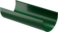 Желоб водостока Docke Dacha 120мм (3м, зеленый) -