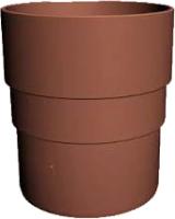 Муфта для водостока Docke Dacha 80мм (светло-коричневый) -