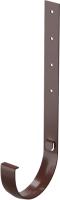 Кронштейн желоба Docke Premium Металлический 300мм (шоколад) -