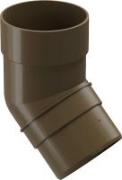 Колено для водостока Docke Premium 45 градусов (каштан) -