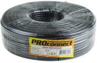 Кабель PROconnect RG-6U CCS/Al/Al / 01-2205-1 (100м, черный) -