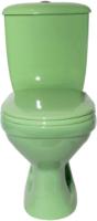 Унитаз напольный Оскольская керамика Суперкомпакт Стандарт (зеленый) -