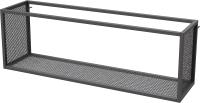 Полка Millwood Loft 5 120x40x30 (металл черный) -