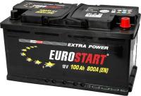 Автомобильный аккумулятор Eurostart Extra Power L+ (100 А/ч) -