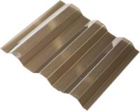 Шифер прозрачный Ondex Ecolux 2500x1095мм 70/18 трапеция (тонированный) -