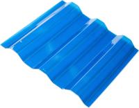 Шифер прозрачный Ondex Ecolux 2000x1095мм 70/18 трапеция (прозрачный, синий) -