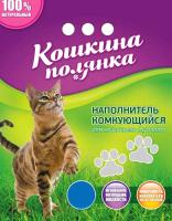 Наполнитель для туалета Кошкина Полянка Бентонитовый / 0201 (3кг) -