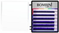 Ресницы для наращивания Bombini Holi C-0.07-mix (6 линий, синий) -