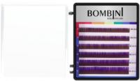Ресницы для наращивания Bombini Holi C-0.07-mix (6 линий, фиолетовый) -