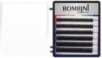 Ресницы для наращивания Bombini Holi D-0.1-mix (6 линий, черно-фиолетовый) -