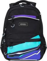 Школьный рюкзак Grizzly RB-054-2 (фиолетовый) -
