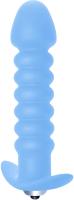 Вибропробка Lola Toys Twisted Anal Plug / 104406 (голубой) -