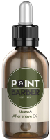 Масло для бороды Farmagan Point Barber Shave & After Shave Oil (30мл) -