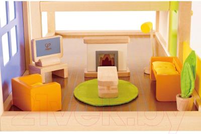 Комплект аксессуаров для кукольного домика Hape Гостиная / E3452-HP