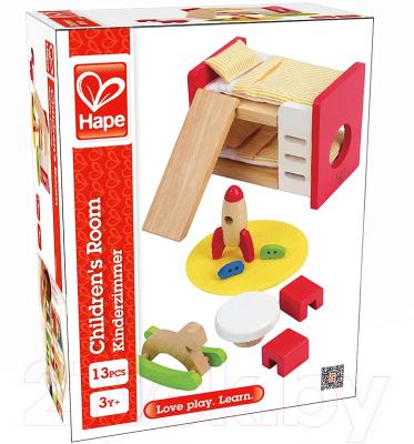 Комплект аксессуаров для кукольного домика Hape Детская комната / E3456-HP