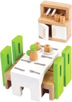 Комплект аксессуаров для кукольного домика Hape Столовая / E3454-HP -