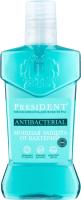 Ополаскиватель для полости рта PresiDent Antibacterial мощная защита (250мл) -