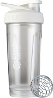 Шейкер спортивный Blender Bottle Strada Tritan / BB-STTR-FCWH (белый) -