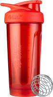 Шейкер спортивный Blender Bottle Strada Tritan / BB-STTR-FCRD (красный) -