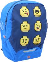 Детский рюкзак Lego Faces / 10030-2006 (синий) -