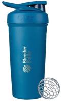 Шейкер спортивный Blender Bottle Strada Stainless Steel Full Color / BB-STSS-FCOB (синий) -