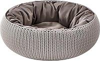 Лежанка для животных Curver Knit Cozy Pet Bed-Foggry -
