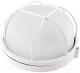 Светильник ЖКХ TDM НПБ1302 60Вт IP54 (белый, круг с решеткой) -