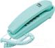 Проводной телефон Ritmix RT-005 (голубой) -