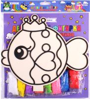 Набор для творчества Darvish Деревянная фигурка из разноцветных шариков / DV-9504 -