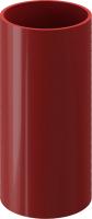 Труба водостока Docke Premium (1м, гранат) -