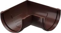 Угол желоба Docke Premium 90 градусов (шоколад) -