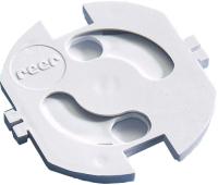Набор заглушек для розеток Reer 9324602 (20шт, белый) -