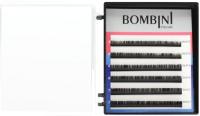 Ресницы для наращивания Bombini Микс D-0.07 5-7 (6 линий) -