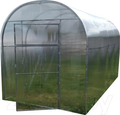 Теплица КомфортПром 2.1x10м(1) / 10011029 (с поликарбонатом)