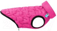Куртка для животных AiryVest UNI 2569 (L, розовый/черный) -
