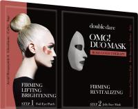 Набор косметики для лица Double Dare OMG! DUO упругость и ревитализация двухком. комплекс маска+патчи -