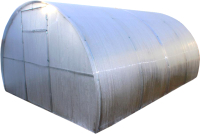 Теплица КомфортПром 3x6м(0.67) / 10011011 (с поликарбонатом) -