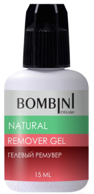 Ремувер для наращенных ресниц Bombini Natural гелевый