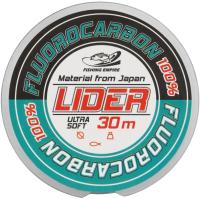 Леска флюорокарбоновая Fishing Empire Lider Fluorocarbon 100% 0.14мм 30м / FL-0114 -