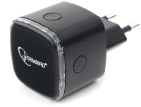 Усилитель беспроводного сигнала Gembird WNP-RP-004-B (черный) -