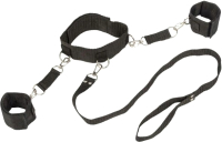 Фиксатор Lola Toys Bondage Collection Collar and Wristbands One Size / 55231 -