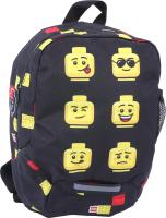 Детский рюкзак Lego Faces / 10030-2007 (черный) -