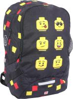 Школьный рюкзак Lego Faces / 10048-2007 (черный) -