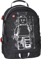 Школьный рюкзак Lego Minifigures Tech Teen / 20041-1815 (черный) -