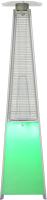 Уличный инфракрасный газовый обогреватель Neoclima 08HW-BL (c LED-подсветкой) -