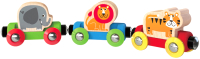 Вагон игрушечный Hape Поезд Джунгли / E3807-HP -
