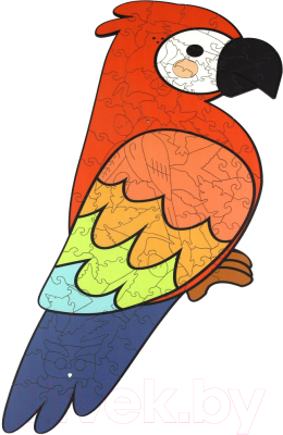 Пазл WoodLand Toys Попугай / 147105