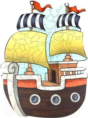 Пазл WoodLand Toys Кораблик / 147101